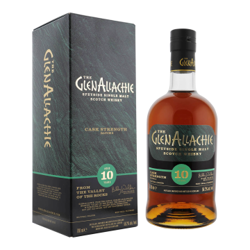 GlenAllachie 10yo Cask Strength batch #3